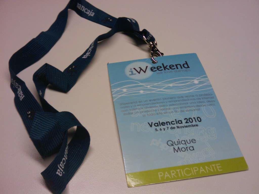 Iristrace ganador de iWeekend Valencia, junto a Tuimis y Golfivy