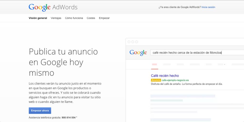 3.empezar en google adwords