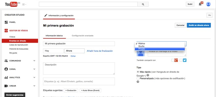 Youtube11-MiPrimeraGrabacion