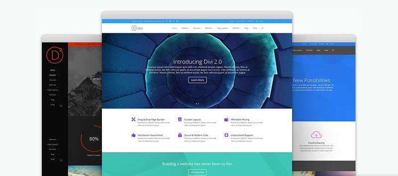 Crear una pagina web en wordpress con DIVI