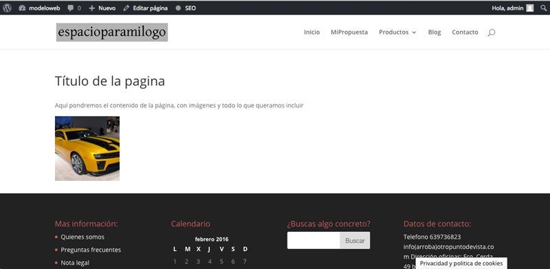 crear-pagina-web-wordpress-pagina-nueva-normal