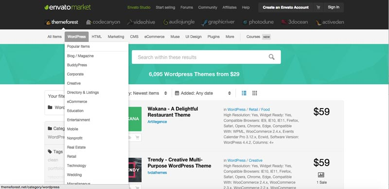 crear-pagina-web-wordpress-themeforest