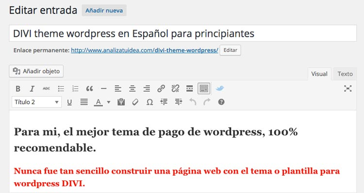 Guía SEO Como modificar la URL en wordpress